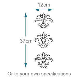 Frosted design dimensions S1